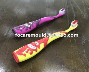 2K rubber mold brush