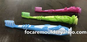 multi component toothbrush injection mold China maker