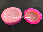 China 2K cap mold cosmetic jar