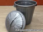 plastic waste bin design
