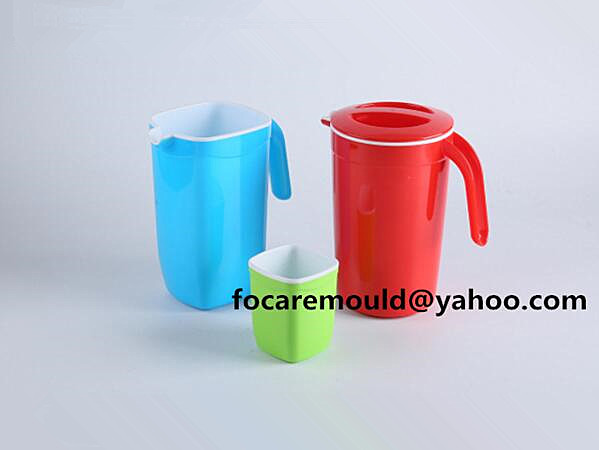 two color water pitcher mold China