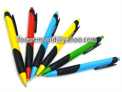 two color ball pen mold