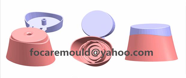 bicolor fliptop cap mold