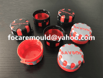 dual color lubricant bottle cap mold