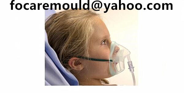 paediatric medium concentration two color oxygen mask