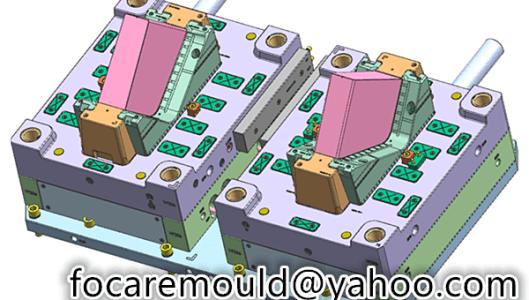 document folder injection mold 2k