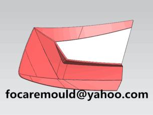 multi shot rear light mold