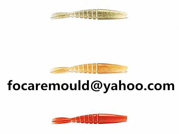 two color fish lures design