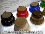two color screw bottle cap