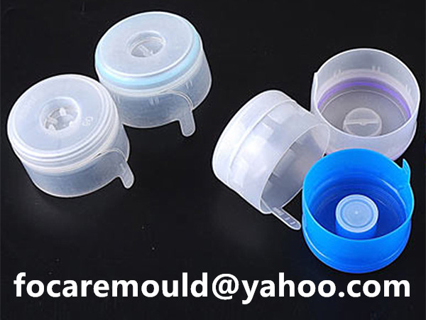 bi material 5 gallon cap mold