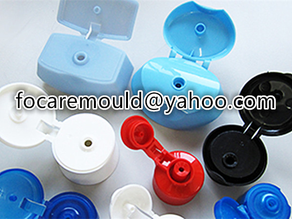 plastic flip caps injection mold