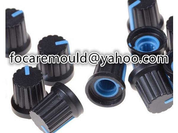 multi shot knob switch cap mold