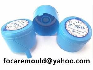 dual colour 5 gallon water bottle cap mold