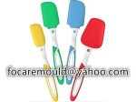 silicon spatulas 2 color mold design