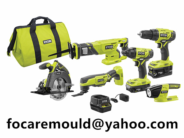 two color power tool combo kits