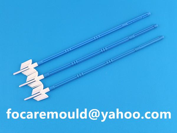 Cervical brush mold