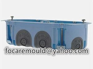 multi shot back enclosure mold