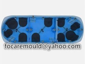 multi shot connection box mold