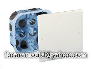 multi shot gang box mold