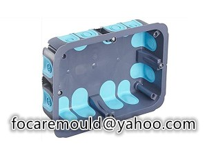 multi shot junction enclosure mold