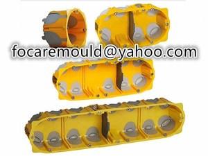 multi shot socket enclosure mold