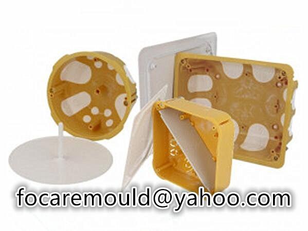 multi shot surface box mold