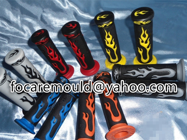 two color handle grip mold