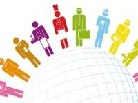 Composición sectorial del empleo y productividad media de la mano de obra en México