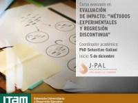 """Curso avanzado en Evaluación de Impacto """"Métodos experimentales y regresión discontinua"""""""