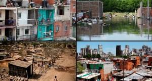 Pobreza comparada a ambos lados de la cordillera