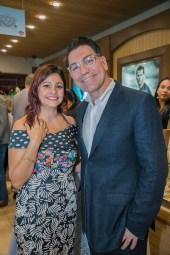 Michael Aram hunto cu Nathalie van Trikt (Marketing Manager-Little Switzerland)