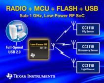 CC1111 -- low-power RF SoC with integrat