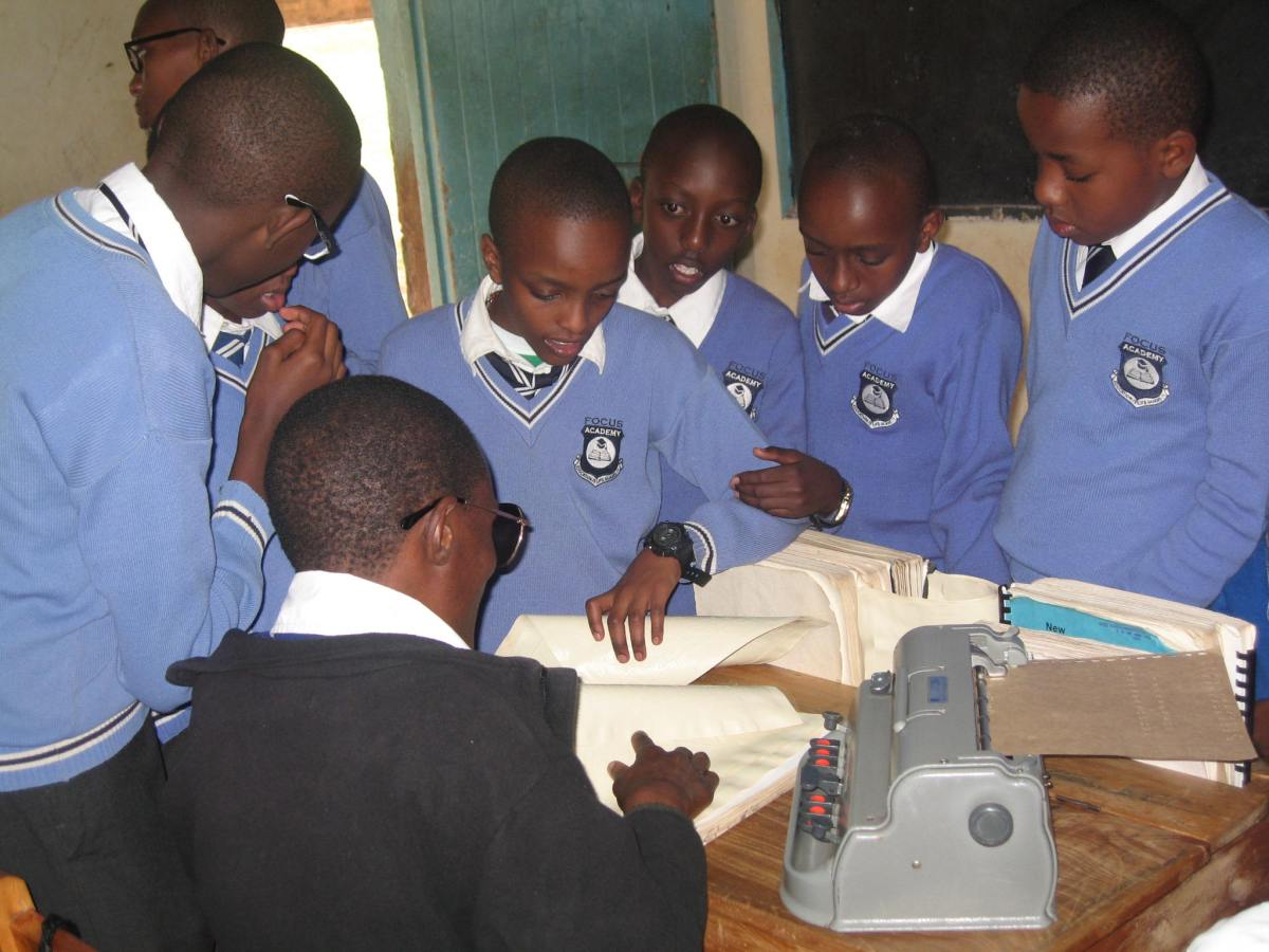 Focus Academy visits Thika Primary School for the Blind