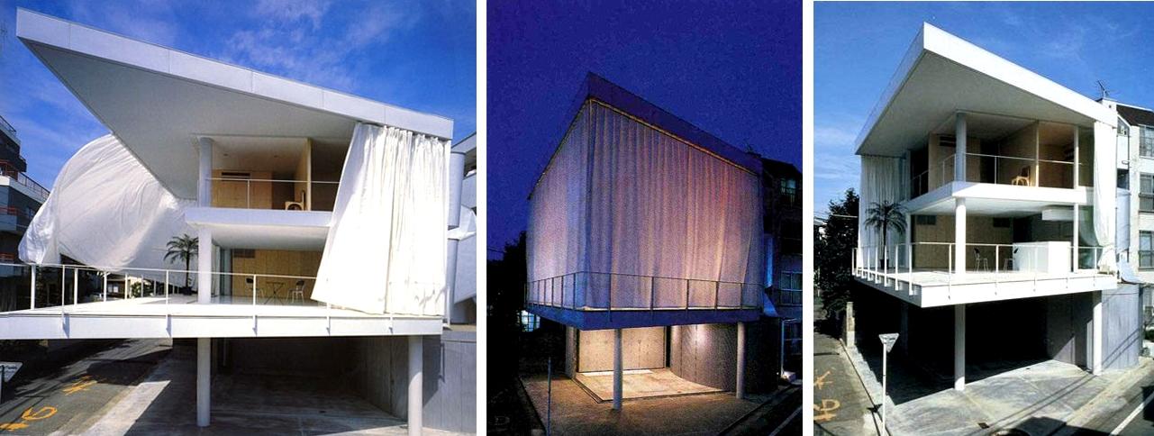 Shigeru Ban Curtain Wall House