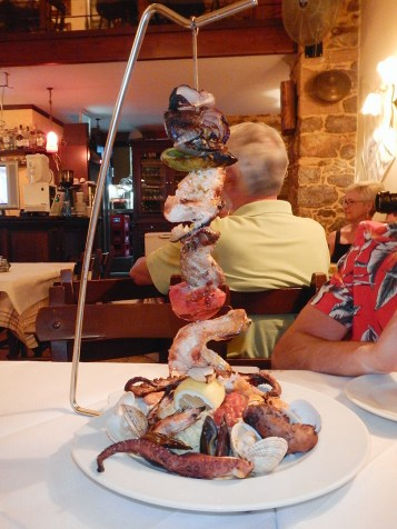Le paradis du poisson chez Aiolos Tavern !