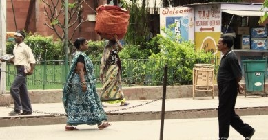 """Going for a Walk on the Streets"" by Rachel Cancino-Neill taken in India: 2010"