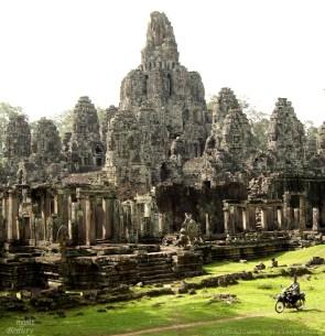 """""""Riding Past Angkor"""""""