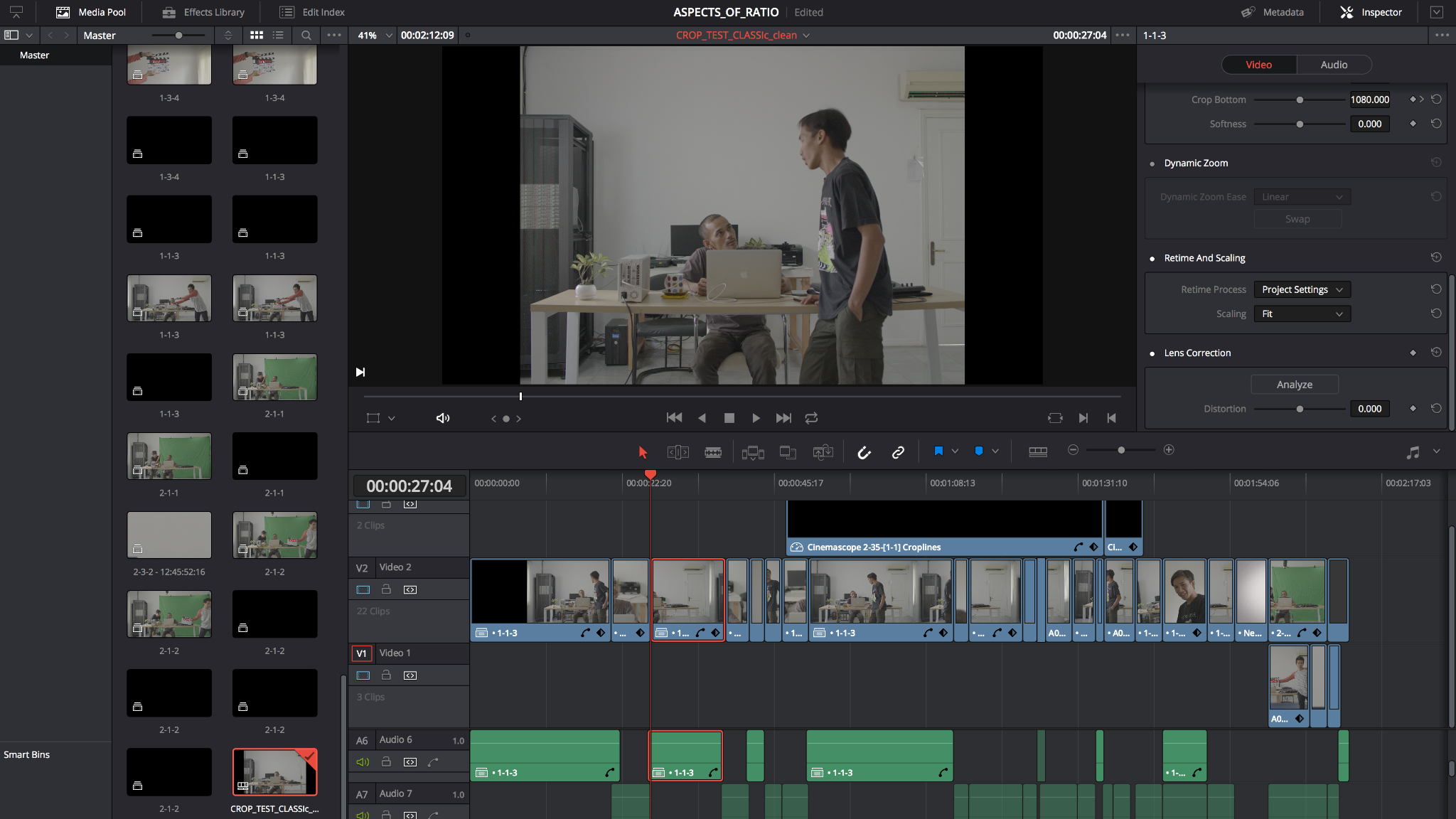 FCPX Fincher Style Part II – Handoff for Mastering
