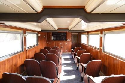 Amtrak Coast Starlight Pacific Parlor Car