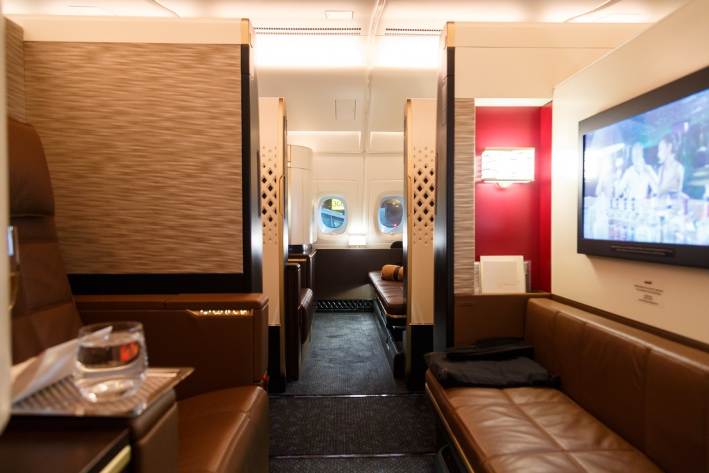 Etihad A380 First Class Apartments Abu Dhabi To Sydney