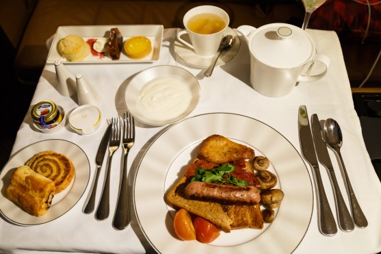 Etihad First Class Apartments Breakfast