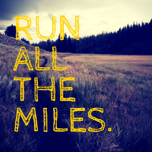 More miles? Have your legs had enough?