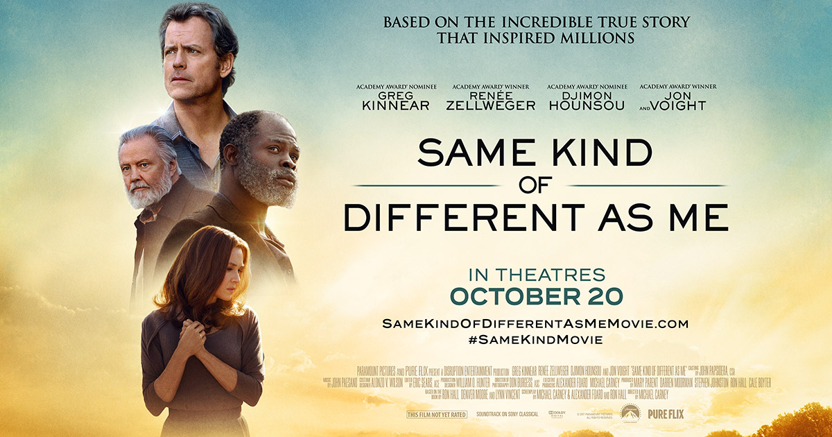 Same Kind of Different as Me Movie Review  Focus