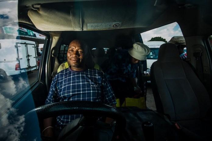 Bericht uit Zuid-Afrika #12-taxi chauffeur