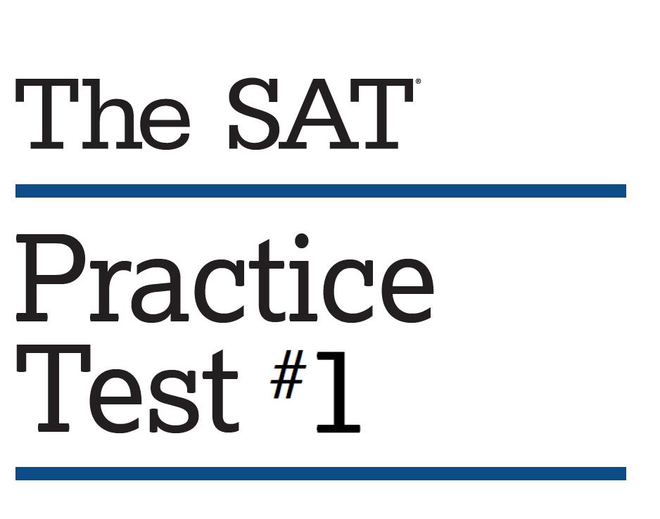 SAT Practice Test 1