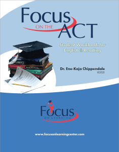 ACT English Reading Workbook Cover (2021)