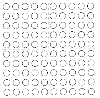 "Mental Math: ""How Many to 100?"" on the 100-Dot Array"