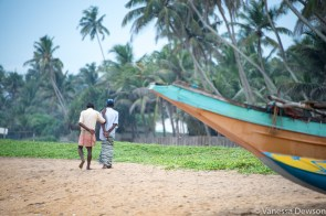 Fishermen, Wadduwa Beach, Sri Lanka