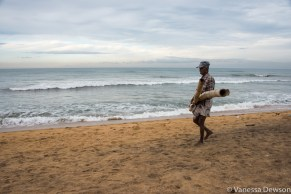 Fisherman, Wadduwa Beach Sri Lanka