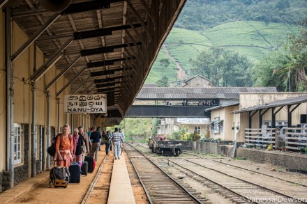 Nanu Oya Station, Sri Lanka